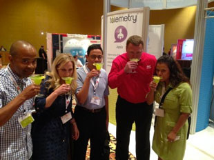 CBRE at the Talemetry booth, OHUG 2014
