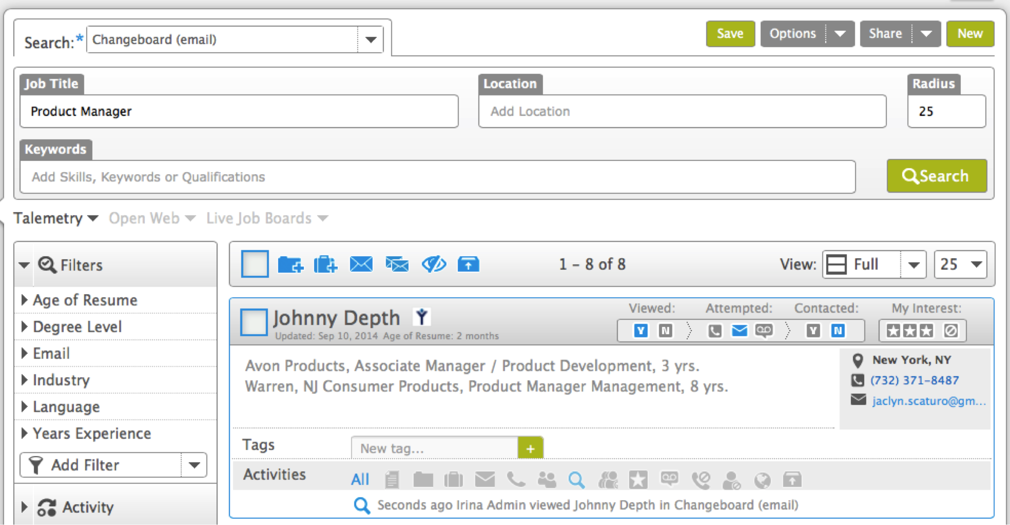 SearchTalemetry