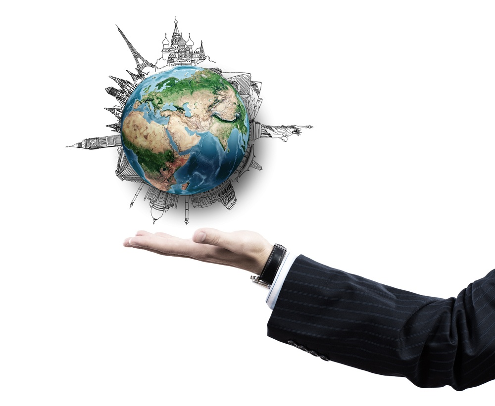 Close up of businessman hand with Earth planet in palm. Elements of this image are furnished by NASA.jpeg