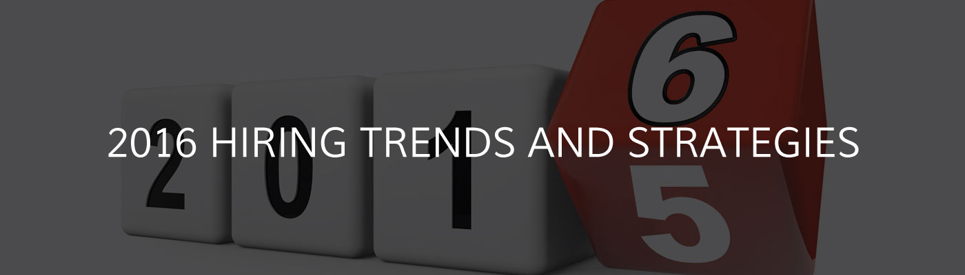 2016 Trends and Strategies