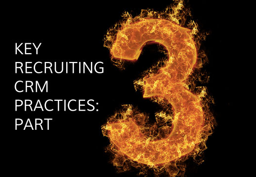 Key recruiting crm practices